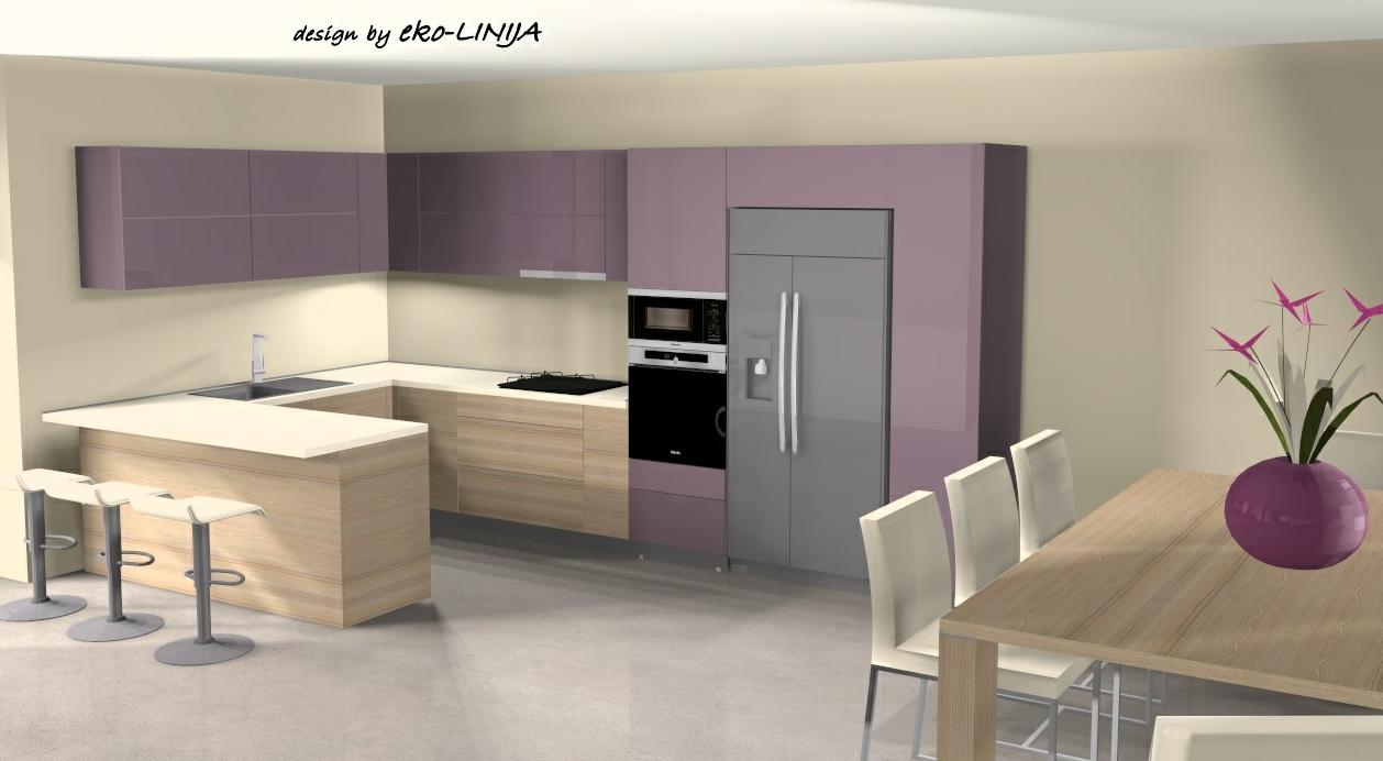 Kuhinje po mjeri akcija Kuhinja Amalie Iveral drvni dekor coimbra